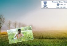 About kisan call center toll free number in hindi